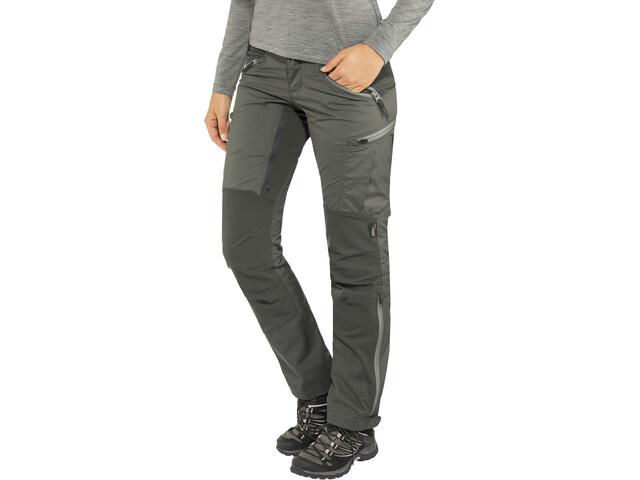 Lundhags Makke Spodnie Kobiety, granite/charcoal
